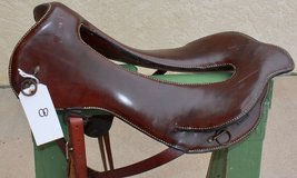 1880's whitman saddle new leather on seat with whitman brass data plate in Fort Carson, Colorado