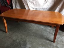 Wood coffee table in Fairfield, California