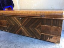 Art deco cedar chest storage trunk in Fairfield, California