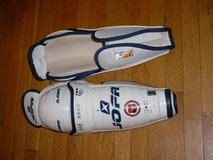 Sherwood 7000 Senior Hockey Goalie Pants W/Straps Black M PICTURES! in St. Charles, Illinois