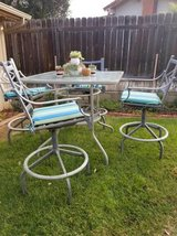 5 piece bar height patio set in Camp Pendleton, California