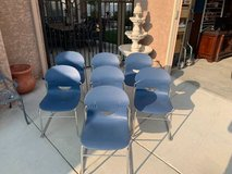 Set of 7 Virco Stackable Chairs in Vacaville, California