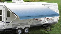 Carefree Fiesta Ocean Blue 21'  Vinyl Roller Assembly RV Canopy  Bruised & Reduced - New! in Aurora, Illinois