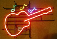 Neon Guitar in Schaumburg, Illinois