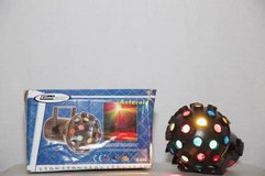 Stage Lighting: Asteroid Ball; production equipment; DJ in Fort Lewis, Washington