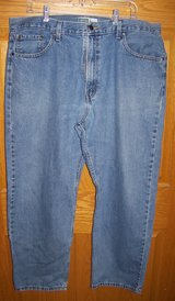 levi's strauss signature men's 40x30 relaxed medium wash denim blue jeans in Palatine, Illinois