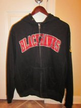 Blackhawk Embroidered Hoodied Zip Up Sweatshirt in Palatine, Illinois