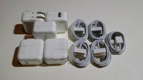10W Apple iPad GEN 1/2/3 Wall Charger Adapter W/30Pin USB Cable in Baytown, Texas