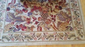 Wool Area Accent Rug 5x7 (new price) in Bolingbrook, Illinois