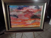 Water Color Art/ Framed with glass in Las Cruces, New Mexico
