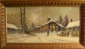 christmas [painting]museum print ... in Palatine, Illinois