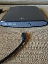 LG Super-Multi Portable Slim DVD-Rewriter never used in Camp Pendleton, California