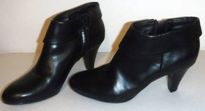Sz 8.5M Naturalizer Black N5 Comfort Bates Zip Up Ankle Boot Heels in Orland Park, Illinois