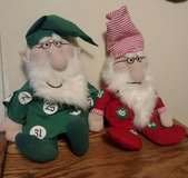 Set of two Illinois Lottery wizard plush Odds Be with You in Chicago, Illinois