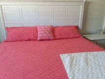 King size coverlet set in Moody AFB, Georgia