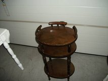 ANTIQUE OCCASIONAL TABLE ALL WOOD in Tinley Park, Illinois