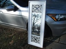 BEVELED MIRROR WHITE FRAME MINT in Tinley Park, Illinois