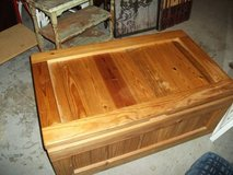 ALL WOOD MINT TOY CHEST STORAGE CHEST in Tinley Park, Illinois