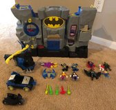 Imaginext Batcave SET, Fisher-Price, lots of accessories, Batman in Houston, Texas