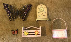 Assorted Butterfly Decorations, pink in Houston, Texas