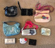 Assorted Girl Purses / Wallets, Set of 9 in Houston, Texas