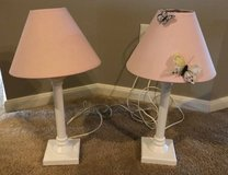 Set of 2 Pink Butterfly Lamps, Cute in Houston, Texas