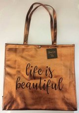 New! Life is Beautiful Shine On Tote Bag in Aurora, Illinois