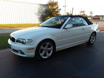 White w/Black Top BMW 325Ci Convertible, Inline 6 Automatic 89k Miles! in Cherry Point, North Carolina