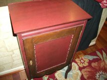 ANTIQUE PAPER MUSIC/ RECORD.FOLDER CABINET ALL WOOD MINT in Tinley Park, Illinois