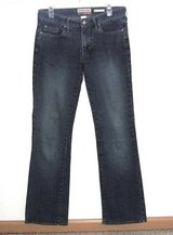 Womens 6 Old Navy Ultra Low Waist Boot Cut Denim Jeans Womens 6 Reg Stretch in Chicago, Illinois