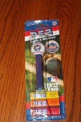 pez new your mets baseball candy & dispenser new in cardboard seled box in Spring, Texas