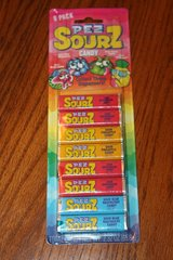 pez candy pez! ? new pez sours, chocolate, cola refill variety sourz 8 packs! in Kingwood, Texas