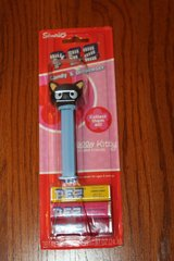 rare pez candy dispenser chococat black cat white eyes from hello kitty new seal in Kingwood, Texas