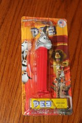 pez: marty the zebra from madagascar, cardboard pack, brand new & sealed in Kingwood, Texas