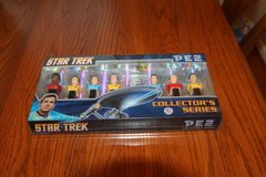 star trek pez collector's series limited edition 187170 dispensers new in box in Kingwood, Texas