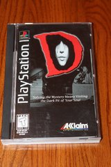 d (sony playstation 1, ps1, 1996) complete - long box - rare in Spring, Texas