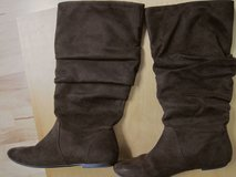 American Eagle Marley brown slouch boots women's size 8.5 w, wide calf in Kingwood, Texas