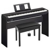 Yamaha P-45 88-Key Weighted Action Digital Piano Black with Wood Stand in Plainfield, Illinois