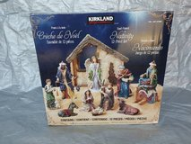 12 PIECE TABLE TOP NATIVITY KIRKLAND CHRISTMAS SET. in Lockport, Illinois