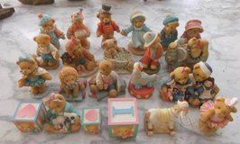 Cherished Teddies Collection of 22 Different Ones in Conroe, Texas