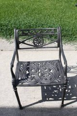 Cast Iron Patio Chair in Kingwood, Texas