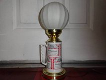 VINTAGE BUDWEISER BEER MUG FLOAT LAMP in Travis AFB, California