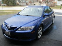 2005 Mazda 6 i Sport w/Bose, sunroof, clean carfax in Schaumburg, Illinois