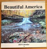Beautiful America 2019 Wall Calendar in St. Charles, Illinois