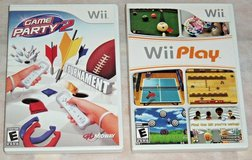 Nintendo Game Lot Wii Play Game Party 2 Wii & Wii U Consoles in Joliet, Illinois