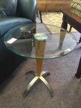 Glass End Table in St. Charles, Illinois