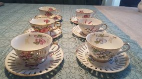 Tea Cups - 6 unique vintage sets in Bolingbrook, Illinois