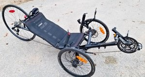 recumbent trike catrike 700 black race bike in The Woodlands, Texas