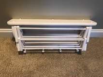 Wall Mounted Laundry Drying Rack in Aurora, Illinois