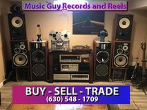 Vinyl and Reel to Reel tapes WANTED. in Joliet, Illinois